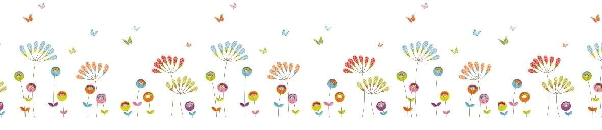 Fleurs en tête